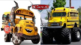 Disney Cars 3 in Real Life 2017