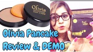 Olivia  Pancake Review & Demo - Most Affordable Makeup Base | JSuper Kaur