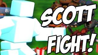 ONLINE SCOTT BOSS FIGHT! | FNaF World: Battlegrounds #2 (FNAF ONLINE!)