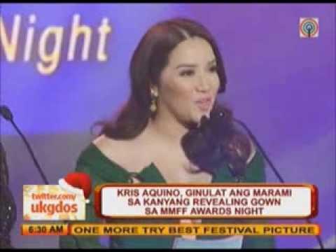 Kris Aquino s revealing gown WOWs netizens