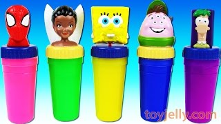 Learn Colors Xylophone Finger Family Nursery Rhymes Spiderman Slime Surprise Eggs Play Doh Peppa Pig