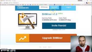 Bitminer - Primer retiro de 500 mil satoshis