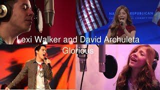 Lexi Walker and David Archuleta - Glorious