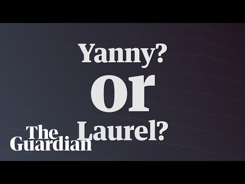 Yanny vs Laurel video: which name do you hear? – audio
