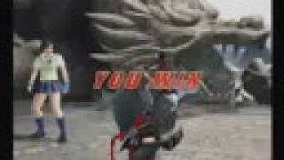 Asuka Kazama Vs Raven