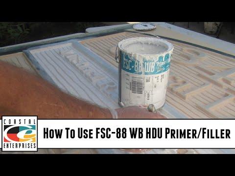How To Use FSC-88 WB HDU Primer/Filler