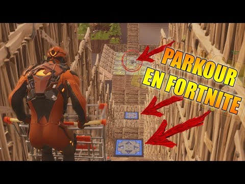Parkour en FORTNITE PATIO DE JUEGOS