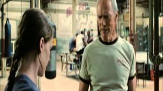 million dollar baby gym scene