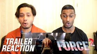 Force 2 Trailer Reaction  John Abraham, Sonakshi Sinha and Tahir Raj Bhasin by Stageflix