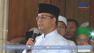 Ustadz Arifin Ilham menangis mendengar curhat Anies Baswedan