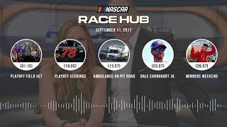 NASCAR Race Hub Audio Podcast (9.11.17) | NASCAR RACE HUB