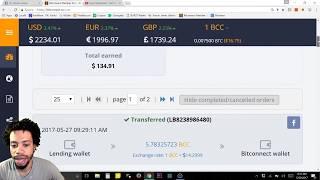 100K BitConnect loan challenge
