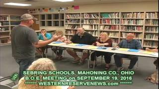 Sebring Schools Offered Court Foundation Donations at the September 19 Board Meeting
