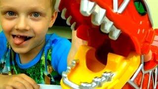 Видео для детей .Могучие Рейнджеры Dino Charge Megazord.Развлечение для детей