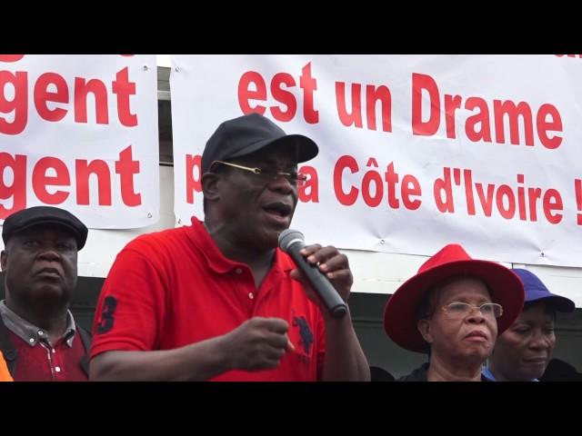Abidjan- MARCHE DE LA COLERE (OPOSITION)
