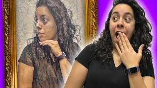 Finding a painting that LOOKS LIKE ME!! (Google Arts   Mystery Gaming)