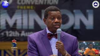 PASTOR E A ADEBOYE SERMON AT DAY 4 RCCG HOLY GHOST CONVENTION 2018 DELIVERANCE SERVICE