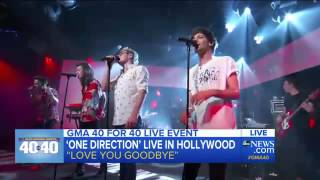 One Direction - Love You Goodbye (Live on GMA) HQ