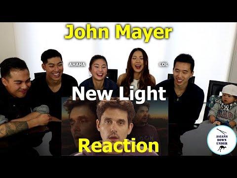 Asians watch John Mayer - New Light (Premium Content!) | Reaction - Australian Asians
