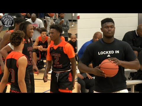 Zion Williamson vs the Best AAU Team in the Nation Full Highlights from Adidas Gauntlet Finale