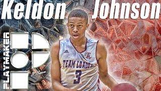 Keldon Johnson is the Smoothest Scorer in 2018! ESPN #9 and Rising!