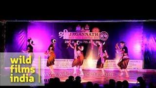 Sambalpuri - Womens' Folk dance during Rath Yatra Mahotsav