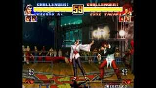 King of Fighters '96 [Arcade] - play as Chizuru (via dipswitch)