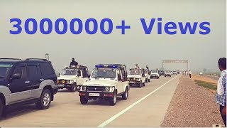 The Great Kafila of Baba Sant Gurmeet Ram Rahim Singh Ji with 800 cars from sirsa to punchkula