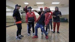 Kida, Jujubeatz, Gavin, Shaheem, Konkrete, Jabari, & Kendrick - Dance Freestyle Session