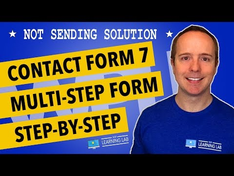 Contact Form 7 Multi-Step Forms Setup Step-by-Step + Save Results To The WordPress Database