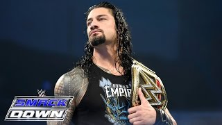 The Miz and Maryse barge in on Roman Reigns: SmackDown, April 28, 2016