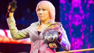 Asuka Vacates NXT Women's Title