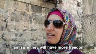 Palestinians: Would you allow your child to marry someone black?