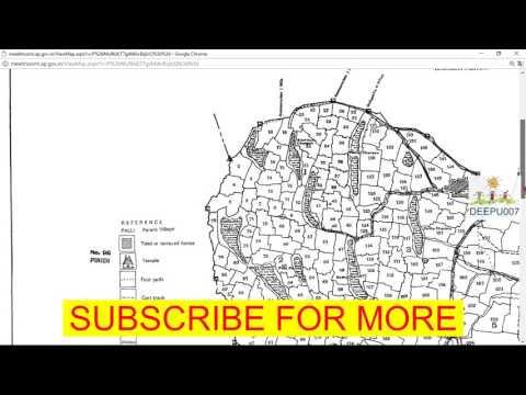 Xxx Mp4 How To Download Village Patam Grama Patam Village Map Mee Seva In Telugu AP TS Andhra Pradesh TS 3gp Sex