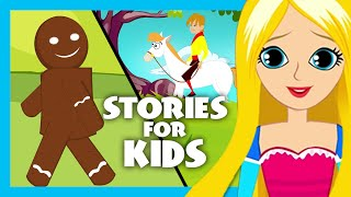 The Gingerbread Man and Rapunzel Story | English Story Compilation for Kids | Rapunzel Izle