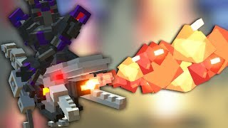 FIRE BREATHING RAPTOR RIDING ROBOT! - Clone Drone in the Danger Zone
