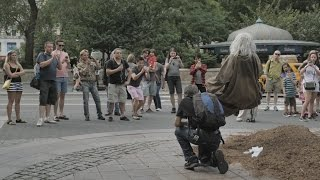 Never Underestimate the powers of the crazy old Homeless man Yelling in the Street.