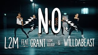 "L2M ft. Grant from KIDZ BOP & Wildabeast - ""NO"" - [Meghan Trainor Cover]"