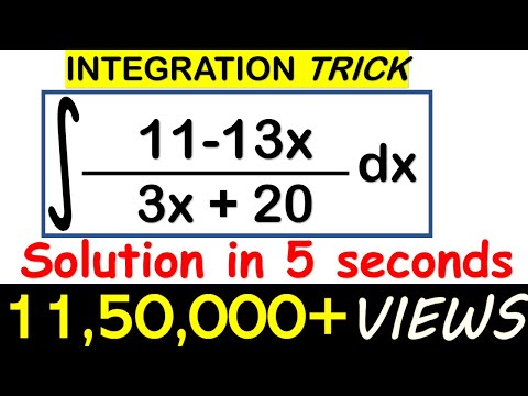 Xxx Mp4 INTEGRATION SHORTCUT SOLVE LINEAR LINEAR FORM IN 5 SECONDS JEE EAMCET NDA TRICKS 3gp Sex