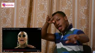 Cuppy Ft  Sarkodie - Vybe (Official Video) REACTION VIDEO   Dj Cuppy falls in love with Sarkodie