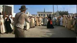 Indiana Jones - Arab Swordsman Scene