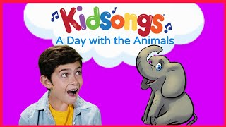 A Day with the Animals by Kidsongs |Nursery Rhymes & Baby Songs | How Much is that Doggie | PBS Kids