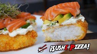 ℗ Sushi Pizza   #LokuraFood   SuperPilopi