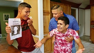 MOM IS GONE PRANK ON BROTHER! (CRYING)