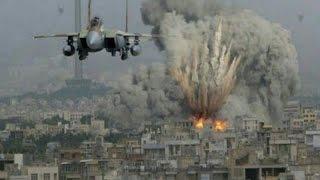 الغارة التي شنها الطيران الإسرائيلي على سوريا