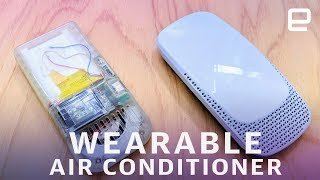 Sony is crowdfunding a wearable 'air conditioner'