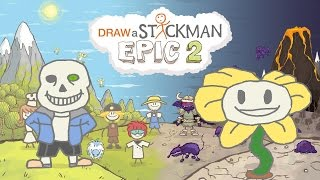 UNDERTALE Draw a Stickman Epic 2 Gameplay - True Ending - End Game