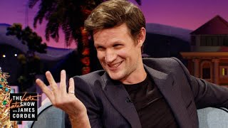 Matt Smith Got a Little Tipsy at James Corden