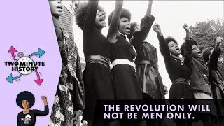 TWO MINUTE HISTORY | POWER TO THE BLACK PANTHER PARTY WOMEN
