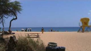New Life  Guard Tower Marks Most Dangerous Beach on Maui